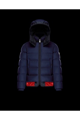 2017 New Style Moncler Branson Classic Men Down Jackets Blue