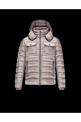 2017 New Style Moncler Reynold Featured Mens Down Jackets Apricot
