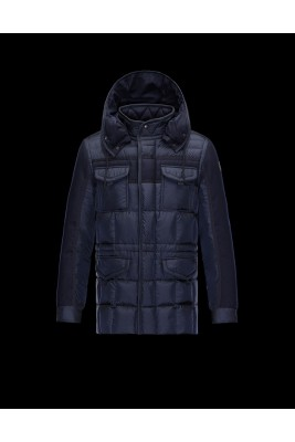 2017 New Style Moncler Leisure Down Coats For Men Blue