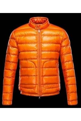 2017 New Style Moncler Eric Fashion Men Down Jackets Orange