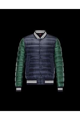 2017 New Style Moncler Girardot Fashion Down Jacket Men Blue