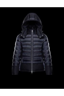 2017 New Style Moncler Mens Down Jackets Zip Navy