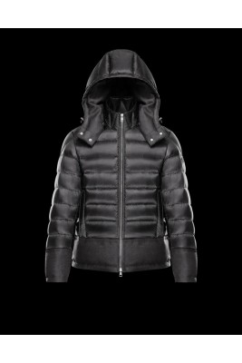 2017 New Style Moncler Leisure Down Jackets For Men Black