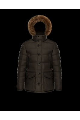 2017 New Style Moncler Mens Montgenevre Winter Down Jackets Brown
