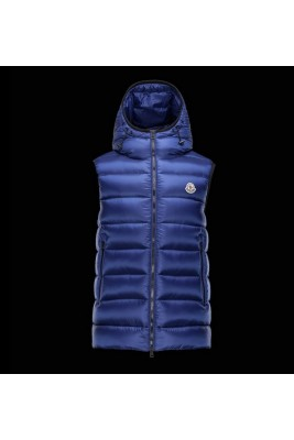 2017 New Style Moncler Mens Dark Blue Down Vests