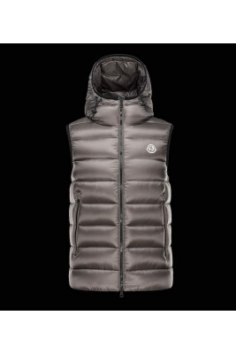 2017 New Style Moncler Mens Apricot Down Vests