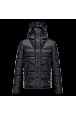 2017 New Style Moncler Cesar Down Mens Jackets Black