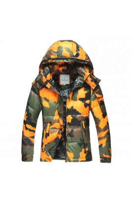 2017 New Style Moncler Cesar Down Mens Green Jackets Camouflage