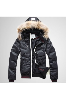 2017 New Style Moncler Top Quality Down Jackets For Men Black