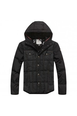 2017 New Style Moncler Clssic Down Jackets Black For Men