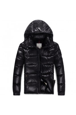 2017 New Style Moncler Classic Mens Down Jackets Fabric Black