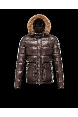2017 New Style Moncler Down Jackets Handsome Men Brown