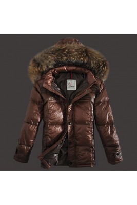 2017 New Style Moncler Fashion Mens Down Jackets Brown