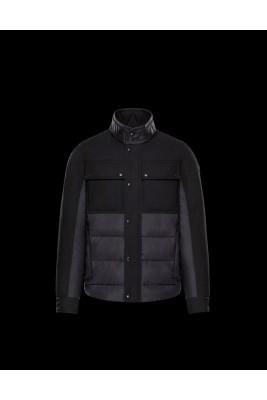 2017 New Style Moncler Acorus Euramerican Style Jackets For Men Black