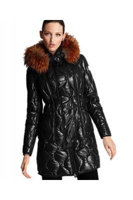 Moncler Lontre Designer Coat For Women Black