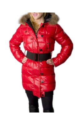Moncler LUCIE New Women Pop Star Red Coat Down