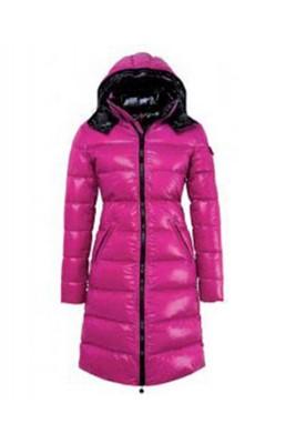 Moncler Nantes Classic Hot Sell Women Coat Zip Hooded Pink