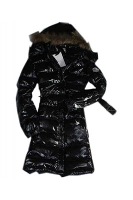 Moncler Popular Down Coats Womens Zip Hooded Long Black