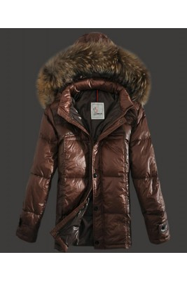 2016 Moncler Down Jackets Mens Brief Paragraph Coffee