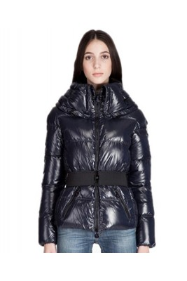 Moncler Aliso Designer Womens Down Jackets With Belt Brown