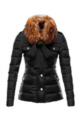 Moncler Cachalot Designer Jacket Down Women Short Black