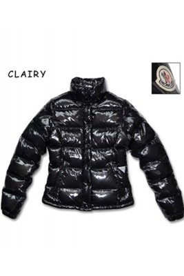 Moncler Clairy Leisure Down Jackets Women Round Neck Black