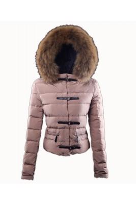 Moncler Crecerelle Top Quality Down Jacket Women Pink