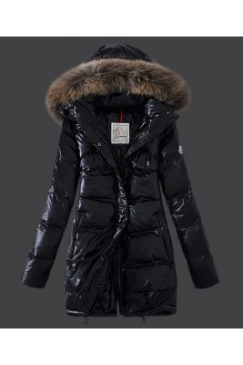 2016 Moncler Euramerican Style Down Coats Womens Black