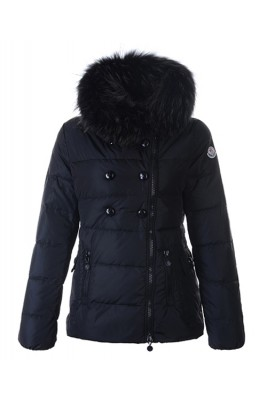 Moncler Herisson Fashion Womens Jacket Short Black