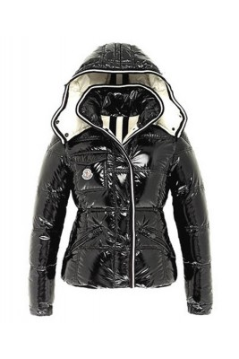 Moncler Quincy Classic Down Jackets For Women Button Black
