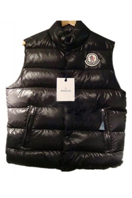 Moncler Clairy Design Down Women Vest Sleeveless Black