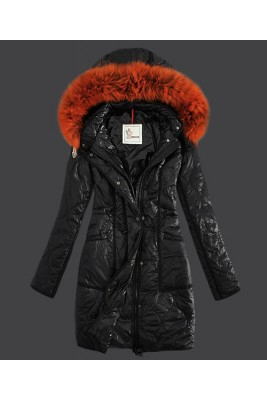 2016 Moncler Fashion Womens Down Coats Windproof Black
