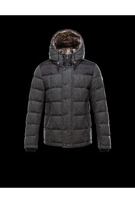 2016 Moncler GUYENNE Featured Down Jackets Mens Gray