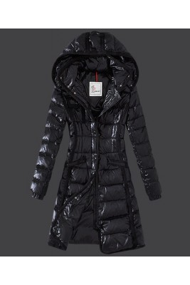 2016 Moncler Hermine Down Coats Womens Windproof Black