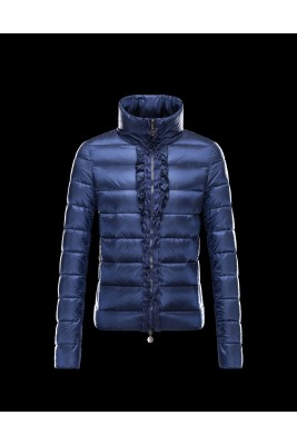 2016 Moncler OXALIS Down Jackets Womens Collar Blue