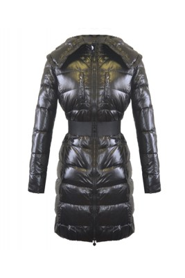 2016 Moncler Passy Women Coat Winter Long Black