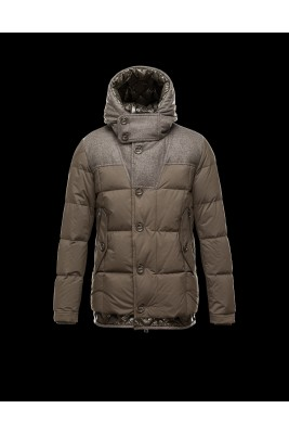 2016 Moncler PYRENEES Jacket For Men Hooded Army Green