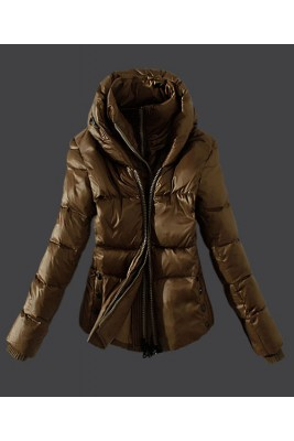2016 Moncler Top Quality Womens Down Jackets Zip Green Car