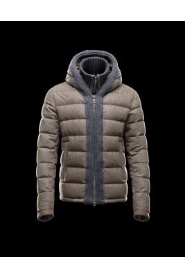 2016 Moncler CANUT Design Mens Down Jacket Army Green