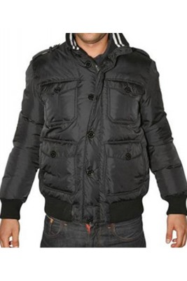 Moncler Cahors Classic Top Quality Down Jackets Mens Black