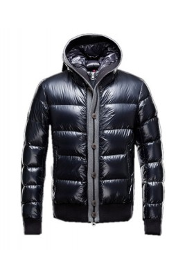 Moncler Cesar Down Mens Jackets Fashion Dark Blue