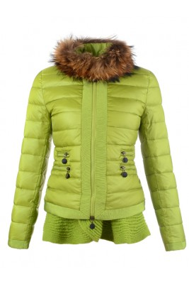 2016 Fashion Moncler Jackets Womens Outlet Green