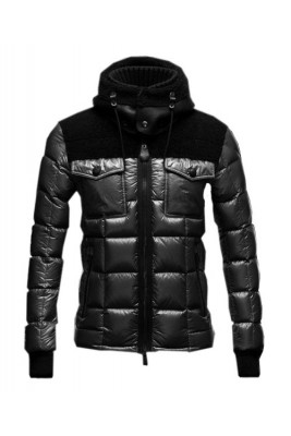 Moncler Lazare Down Jacket Fashion Men Short Black