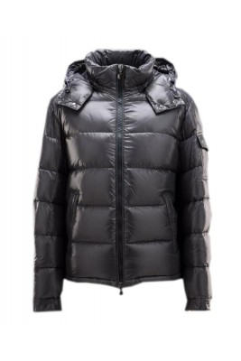 Moncler Maya Winter Mens Down Jacket Fabric Smooth Grey