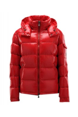 Moncler Maya Winter Mens Down Jacket Fabric Smooth Red