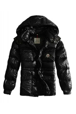 Moncler Men Jacket Design Multi Pockets With Cap Black