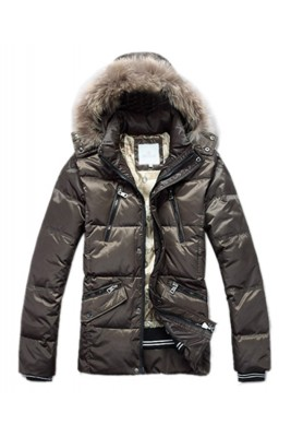 Moncler Top Quality Down Jackets For Men Multi Zip Style Army Gr