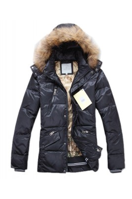 Moncler Top Quality Down Jackets For Men Multi Zip Style Black