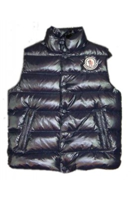 Moncler Clairy Cheap Down Vest Men Sleeveless Black