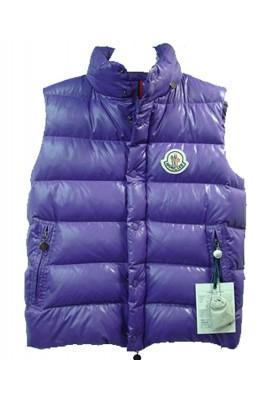 Moncler Clairy Cheap Down Vest Men Sleeveless Blue
